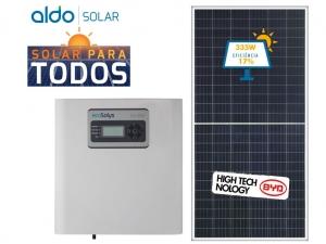 GERADOR DE ENERGIA ECOSOLYS S/ ESTRUTURA GEF 2,01KWP BYD POLI HALF CELL ECOS 2KW 1MPPT MONO 220V