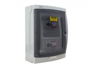 STRING BOX PROAUTO DEHN ALDO SOLAR 20389 SB-2E/4E-2S-1010VDC QUADRO 4 ENTRADAS/2 SAIDA 4STR 1000V  2 MPPT