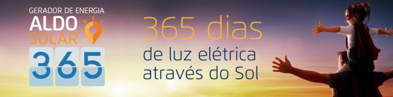 Gerador de Energia Aldo Solar 365